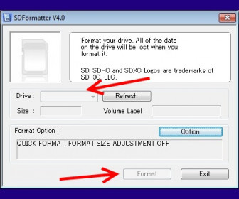 Форматирование флешки в fat32 программа